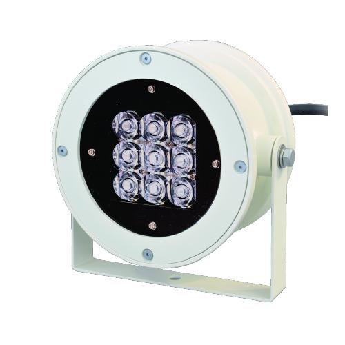 監視用LED投光器 白色モデル