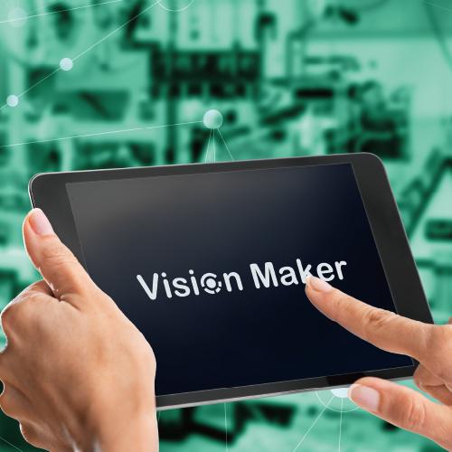 タブレット型製品検査装置 Vision Maker